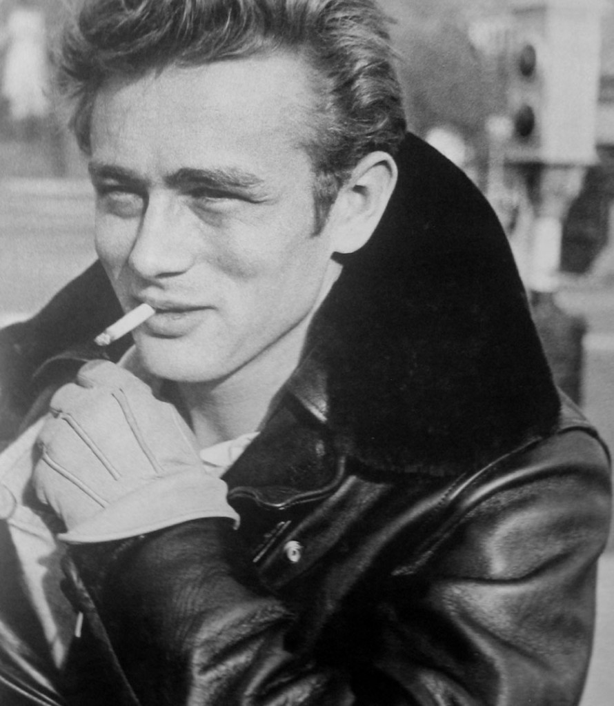 James Dean wearing leather bomber jacket - Go4cigarettes.com American Express